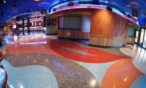 Colorful Terrazzo Flooring