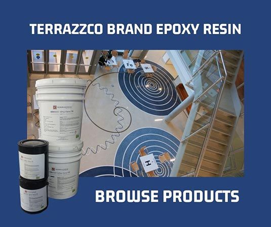 TERRAZZCO Brand Epoxy Resin