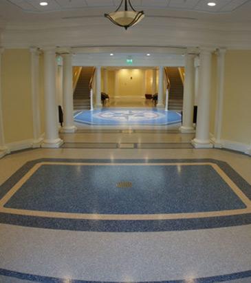 Epoxy Terrazzo Floor