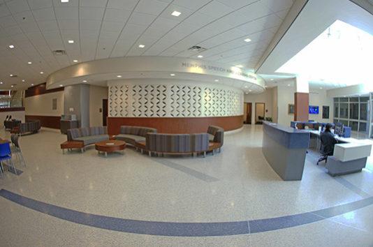Memphis University Epoxy Terrazzo
