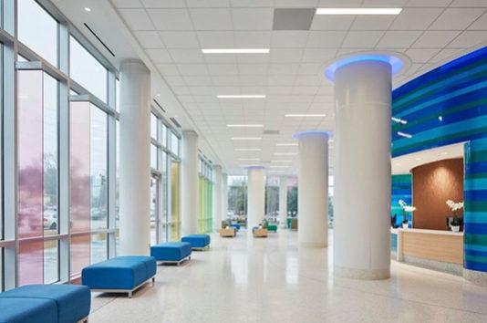 Navicent Health Terrazzo Floor