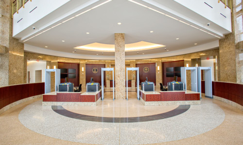 Norfolk Consolidated Courts Terrazzo