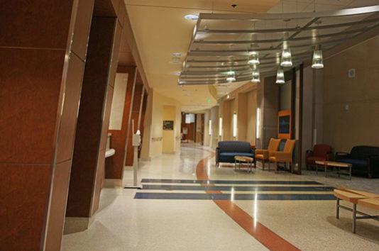 Orlando VA Hospital Terrazzo