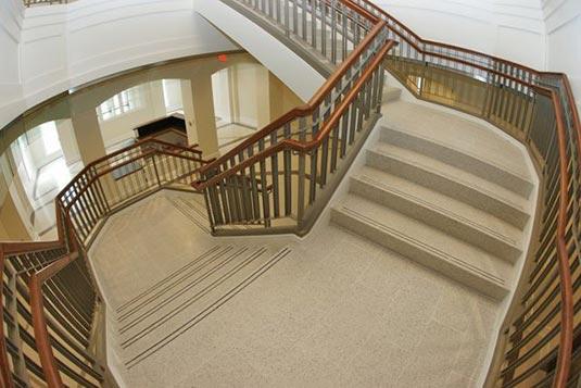 Terrazzo Tile Stair Landing