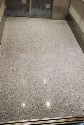 Terrazzo Elevator Tile