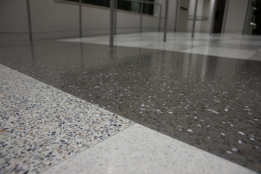 Terrazzo Floor Aggregates