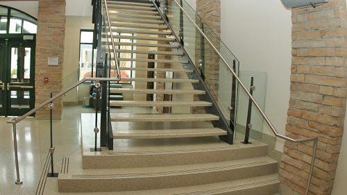 University Terrazzo Stair