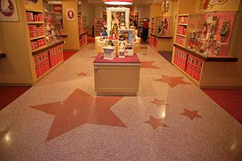 American Girl Terrazzo Flooring