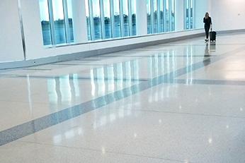 Charlotte Airport - Terrazzo