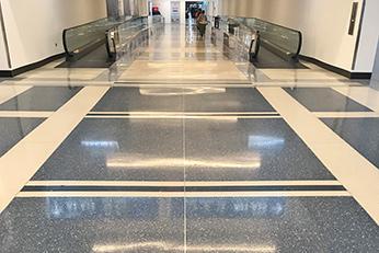 Charlotte Airport - Terrazzo Floors