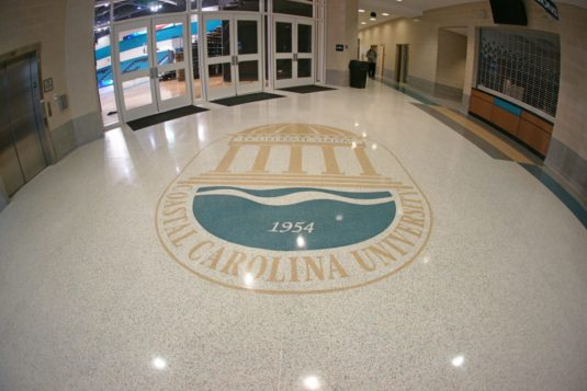Coastal Carolina University Terrazzo Logo Design