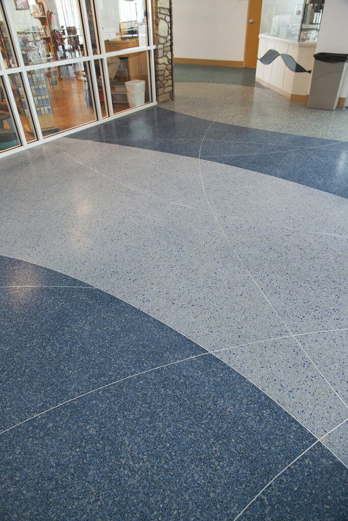 Colorful Terrazzo Floors