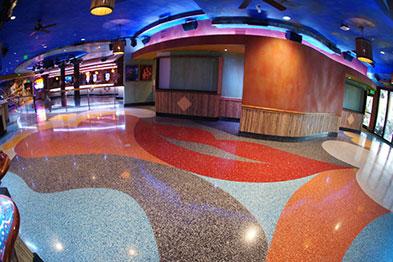 Colorful Terrazzo Flooring Design