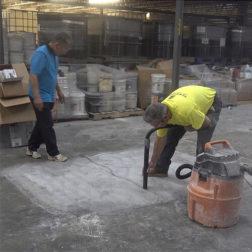 Terrazzo Installation - Concrete Preparation
