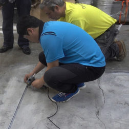 Terrazzo Installation - Floor Layout