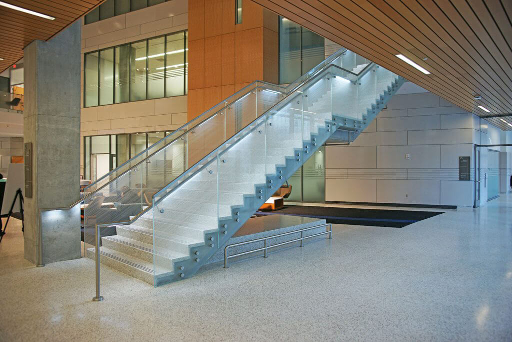 GSU Humanities Law Building Terrazzo Stairs