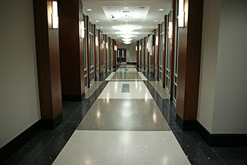Government Center Terrazzo Flooring