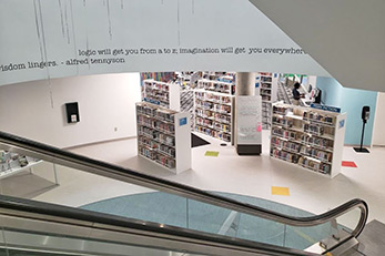 Library Terrazzo Flooring