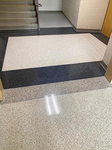 Low Maintenance Terrazzo Floor