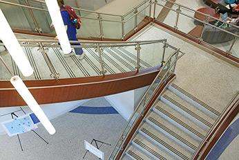 Memphis University - Terrazzo Stairs