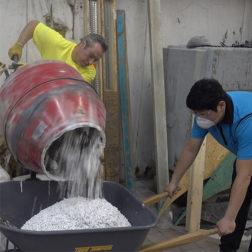 Terrazzo Installation - Pour in Place