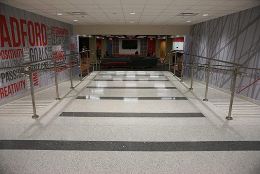 Radford University Terrazzo Flooring