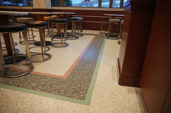 Restaurant Terrazzo Flooring