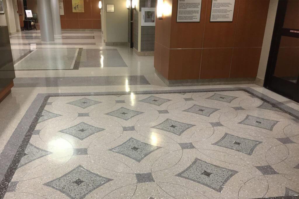South Bay Hospital Terrazzo Floor