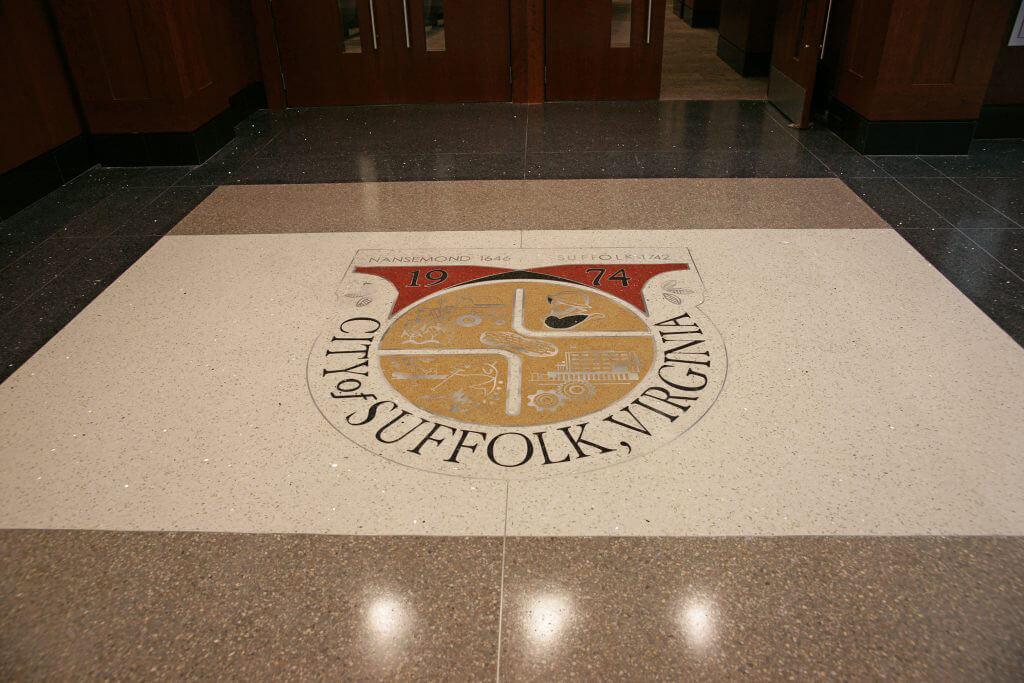 Suffolk Municipal Center - Terrazzo