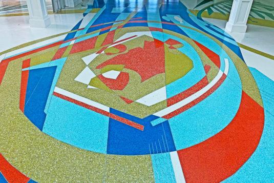 Terrazzo Design - South Bay Hospital