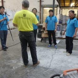 Terrazzo Installation - Terrazzo Concrete Preparation