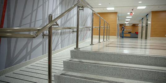 Terrazzo Custom Stairs