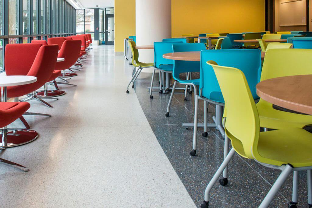 Terrazzo Floor for Libraries