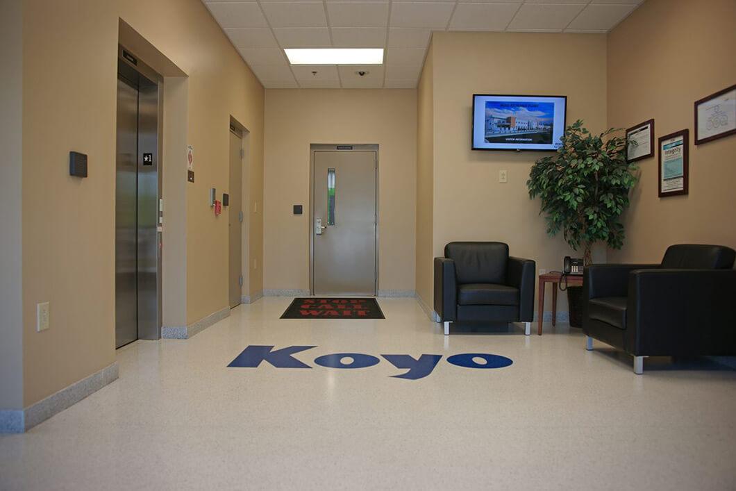 Terrazzo in Office Lobby