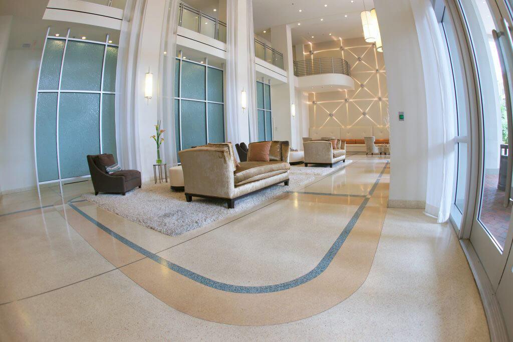 The Paramount 415 Terrazzo Flooring