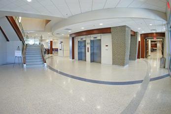 University of Memphis Terrazzo Floor