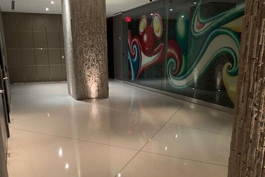 W Hotels Terrazzo Flooring