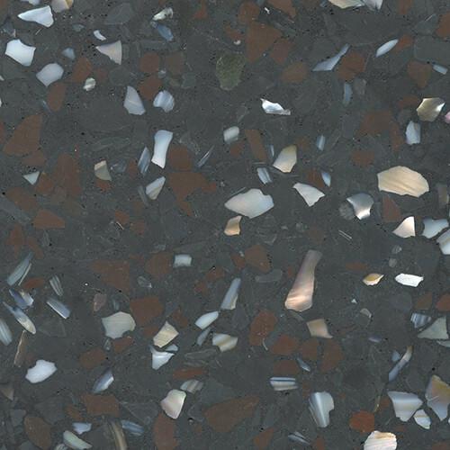 Designer Series DS-SE-6036 Terrazzo Sample - Dark Grey