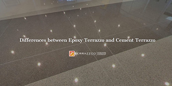 Differences between epoxy and cement terrazzo