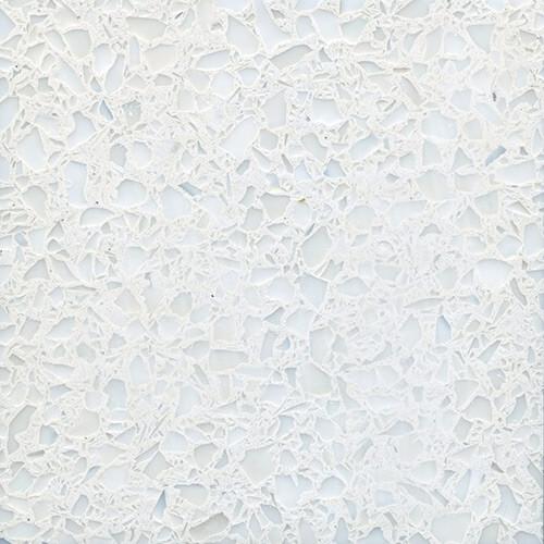 Exotic Architectural Hard Sample #386 - White Terrazzo