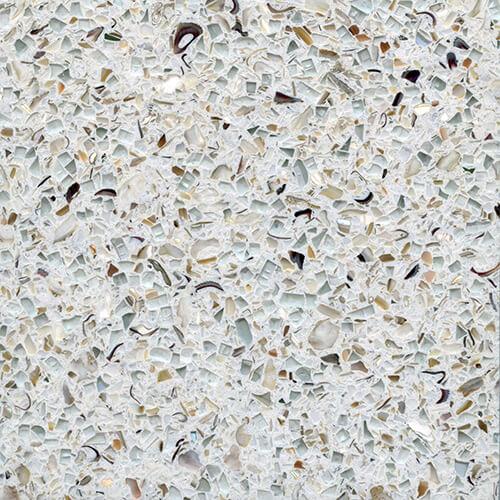 Exotic Architectural Hard Sample #388 - White Terrazzo