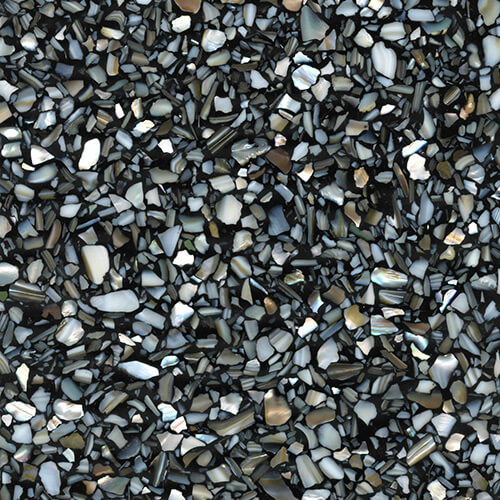 Exotic Architecture Hard Sample #424 - Black Terrazzo