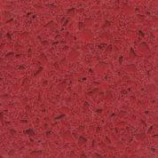 Semi-Exotic Terrazzo #1999 - Red Clear Glass Terrazzo
