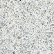 Standard Architectural Hard Kit Sample - White Terrazzo #46