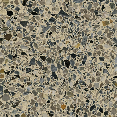 Standard Architectural Hard Kit Sample - Barcelona Bridge Terrazzo #50