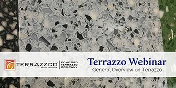 Terrazzo Webinar