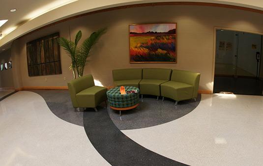 MUSC Wellness Center Terrazzo Floor