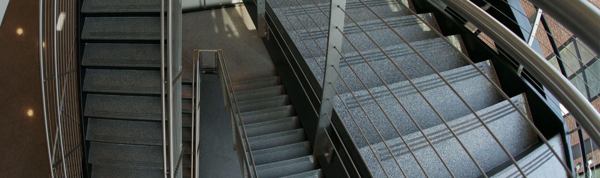 Epoxy Terrazzo Stair Treads